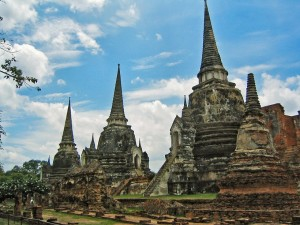 Temple de la province d'Ayutthaya