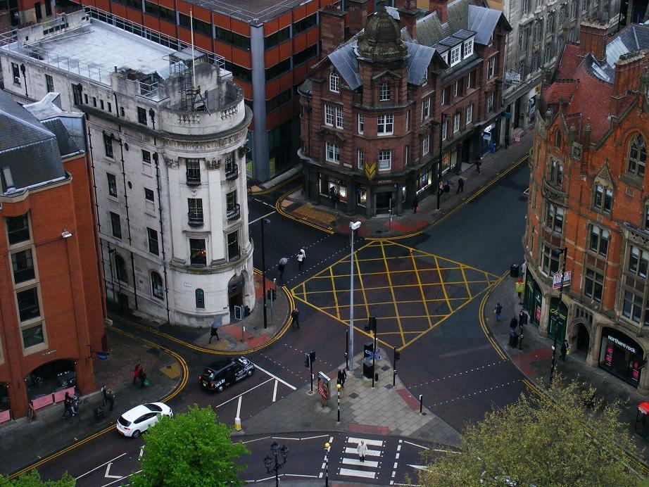 Le centre de Manchester