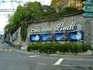 Les chocolats suisses - Lindt