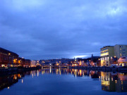 Cork by night