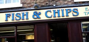 Le célèbre Fish and Chips