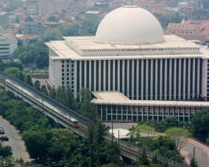 La mosquée Istiqlal