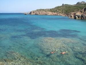 La plage en Sardaigne
