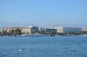 Vue sur Genève et son lac