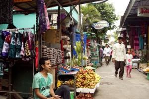 Le marché de Surabaya
