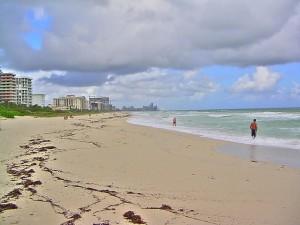 Une plage de Floride