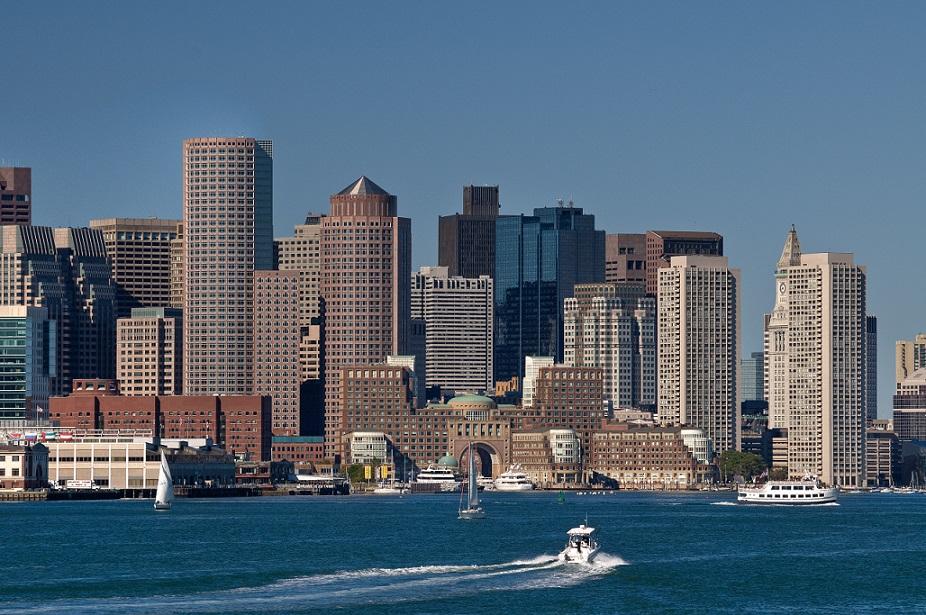 Boston et ses gratte-ciel
