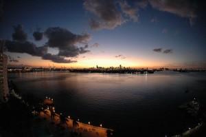 Coucher de soleil Miami