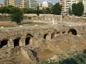 Ruines Thessalonique