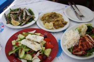repas grecque